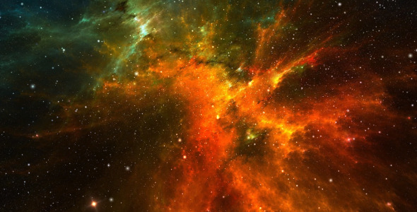 VideoHive Flight Through The Stars In Space 2414479