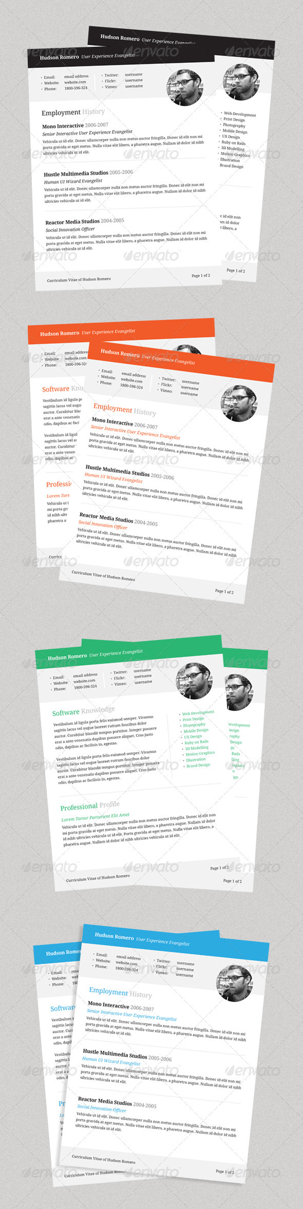 Connect - Resume Template