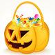 Tricks or Treats Halloween Jack O Lantern
