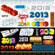 2013 Labels - GraphicRiver Item for Sale
