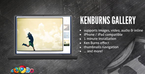 CodeCanyon Ken Burns Media Gallery Slideshow 116150