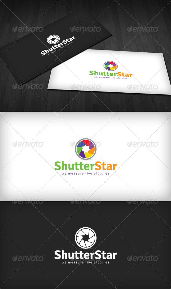 GraphicRiver Shutter Star Logo 2416986