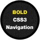 Bold CSS3 Navigation - CodeCanyon Item for Sale