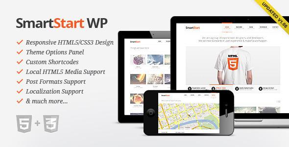 SmartStart WP - Responsive HTML5 Theme