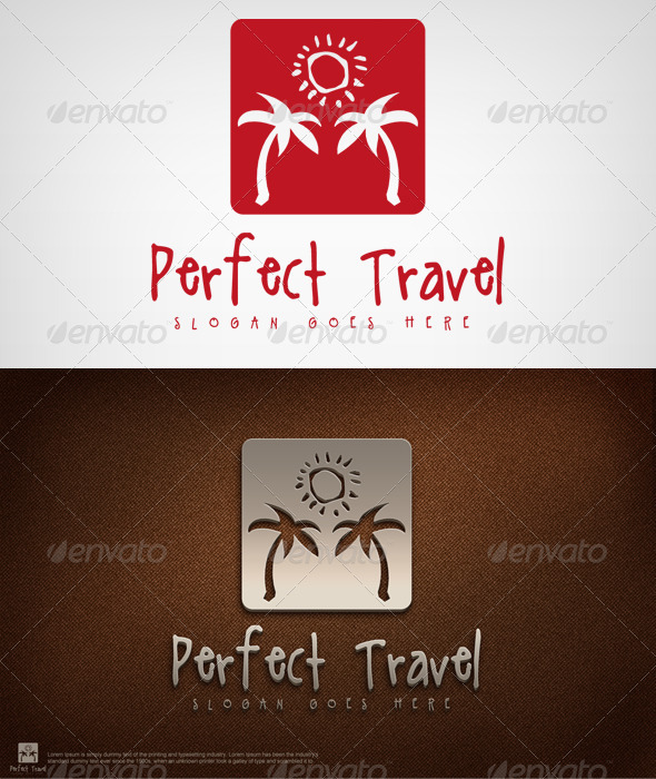Perfect Travel - Nature Logo Templates