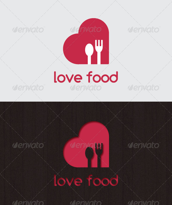 GraphicRiver love food LOGO 2406255