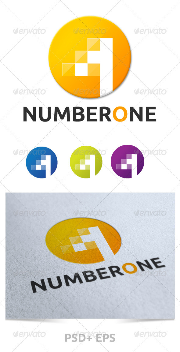 GraphicRiver Number One Logo 2418816