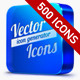 500 Vector Icons + Icon Generator - GraphicRiver Item for Sale