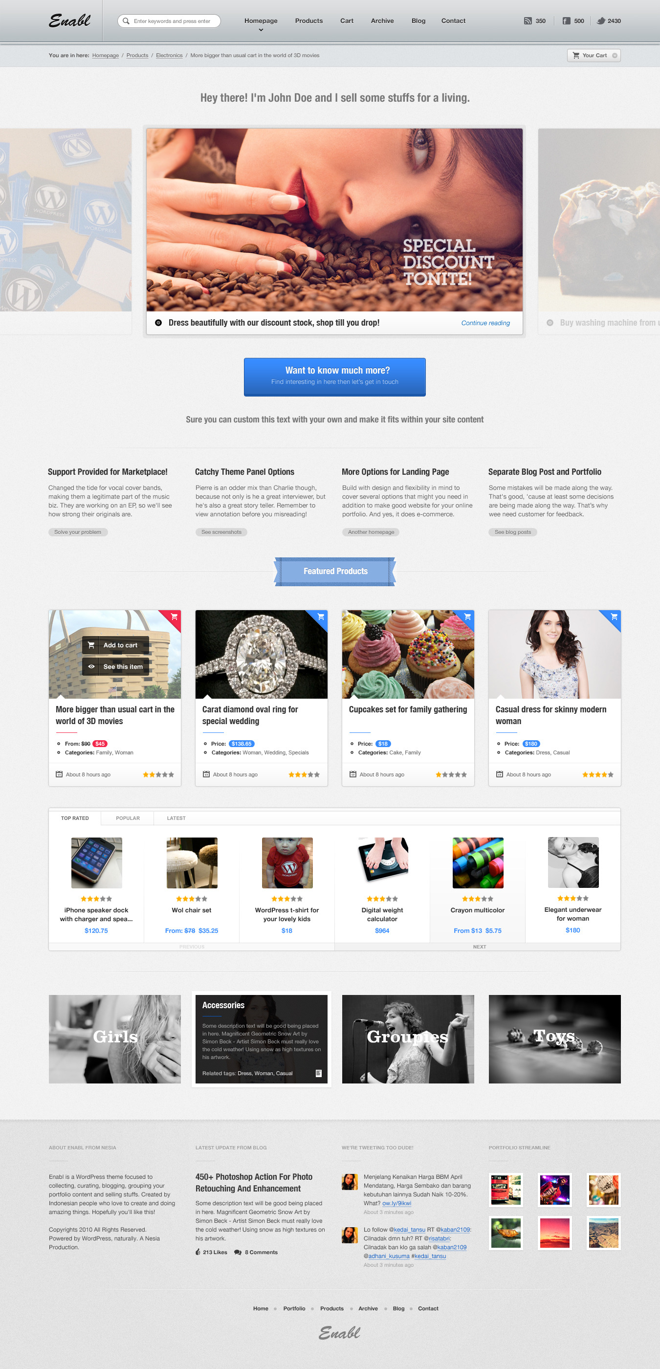 Commerce - Business and Online Store Template