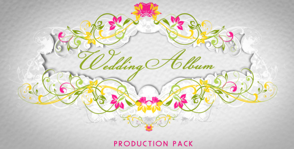 VideoHive Wedding Album 2419459