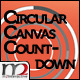 CIRCULAR CANVAS COUNTDOWN