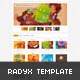 Radyx - clean and minimal portfolio Site Template - ThemeForest Item for Sale