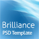 Brilliance PSD Template
