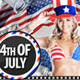 4th July / Independence Day Flyer - GraphicRiver Item for Sale