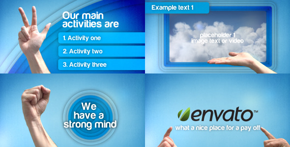 After Effects Project - VideoHive Hand Gesture Promotion Presentation 24216 ...