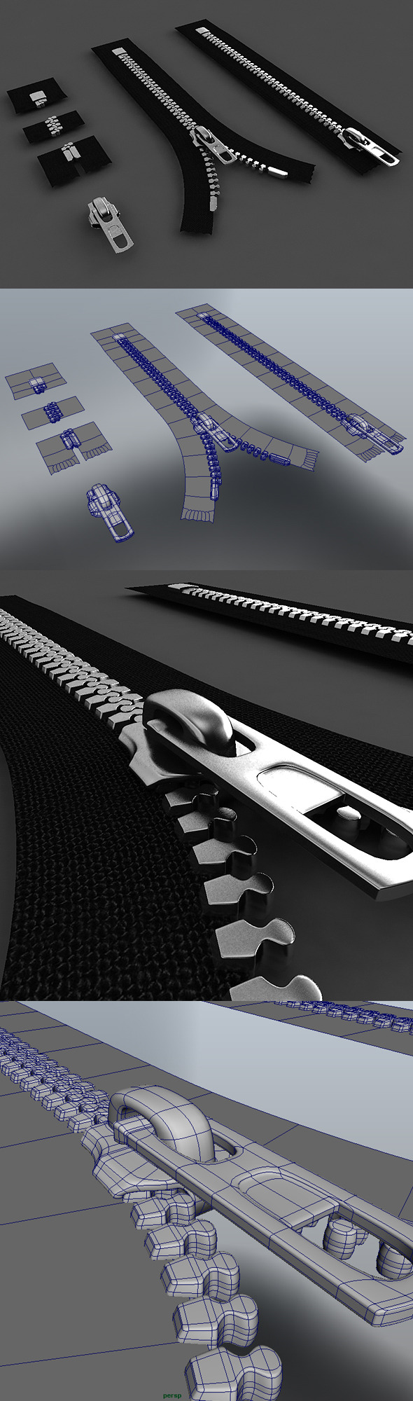 Zipper Construction Kit