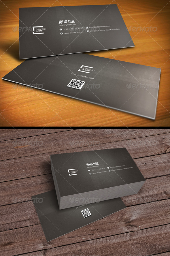 GraphicRiver Clean Business Card 2422230