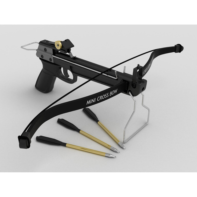 Hand Crossbow - 3DOcean Item for Sale