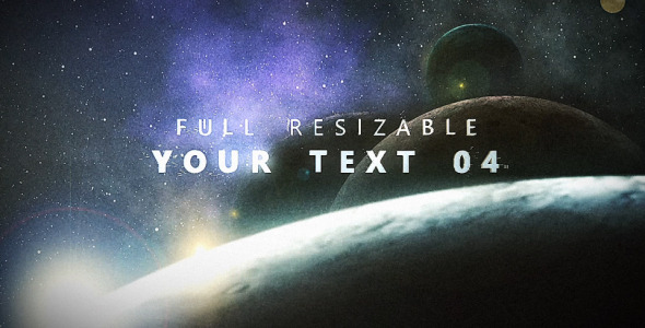 After Effects Project - VideoHive Planetarium Titles 2423923