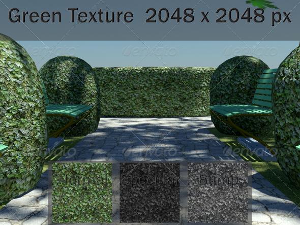 3DOcean Green Texture 2423972