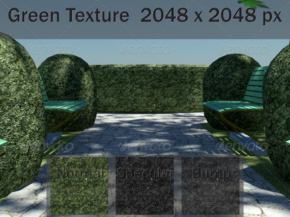 3DOcean Green Texture 2423980