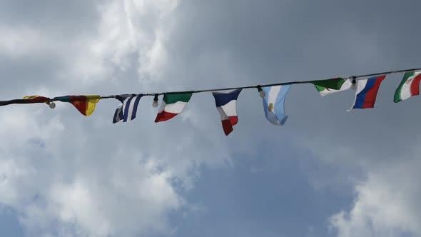 Flag Garland - Ship Decoration - Special Events Arkistofilmit