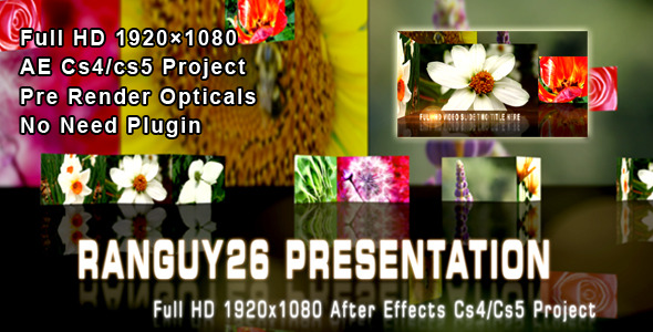 After Effects Project - VideoHive VideoImage Slide Show 272618