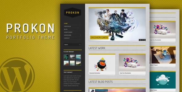 Prokon - clean and easy Portfolio and Blog Theme