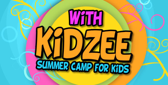 VideoHive Kidzee Summer Camp For Kids 2424987