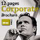 12 Pages Corporate Brochure - GraphicRiver Item for Sale