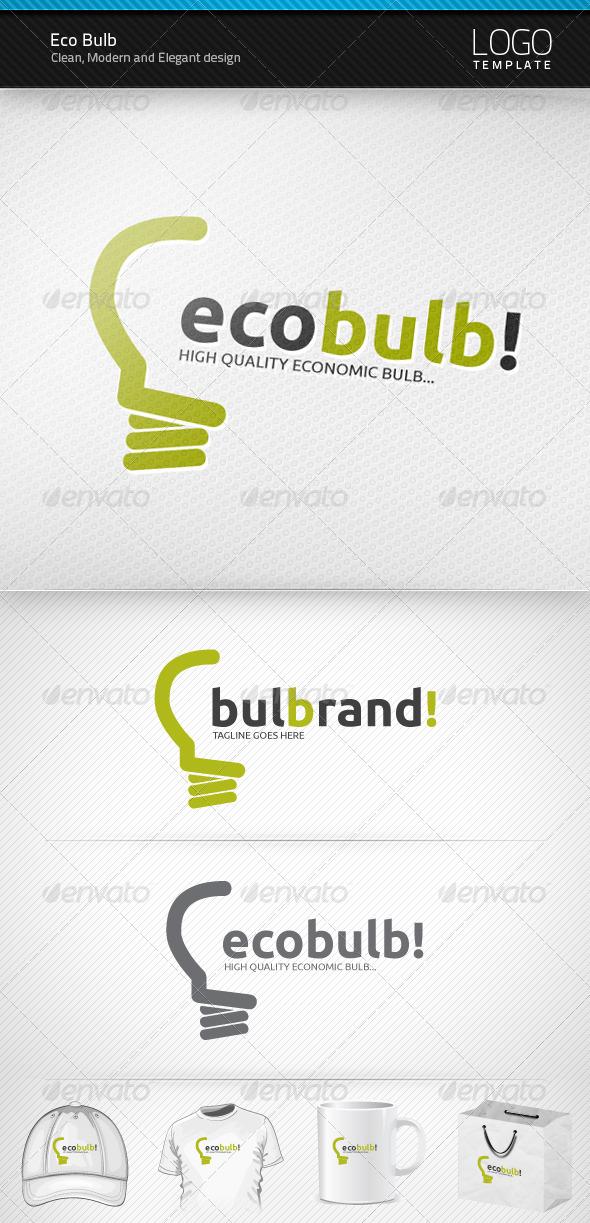 Eco Bulb Logo - Symbols Logo Templates