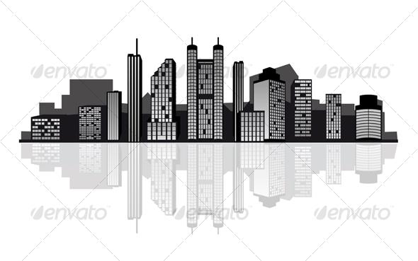 GraphicRiver Modern Cityscape for Design 89154