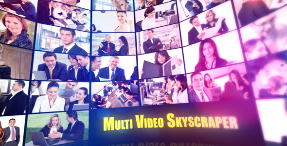 After Effects Project - VideoHive Multi Video Skyscraper-Corporate Template 2429261