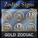 Zodiac Signs - Gold Collection - GraphicRiver Item for Sale