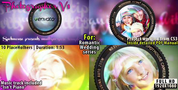 VideoHive Photographer Album 2430526