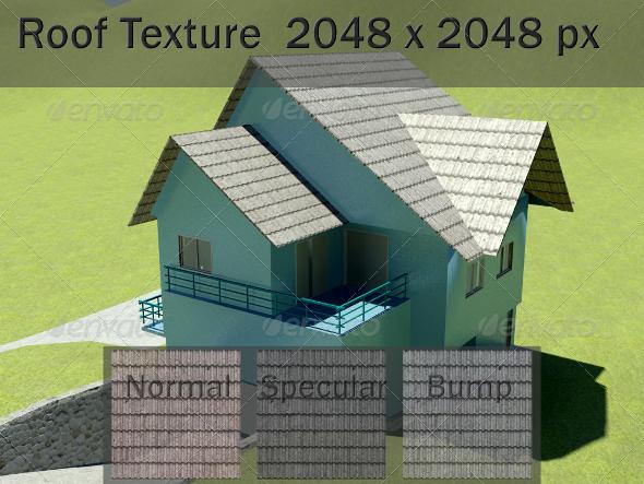 3DOcean Roof Texture 2430736