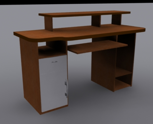 Home Office Desk - 3DOcean Item for Sale