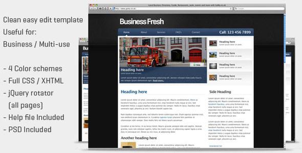 ThemeForest Business Fresh 88600