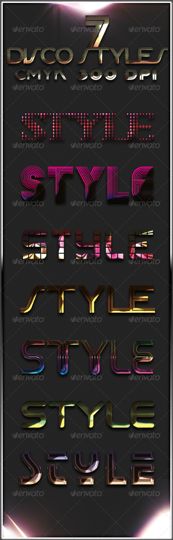 GraphicRiver 7 Disco Styles 273489