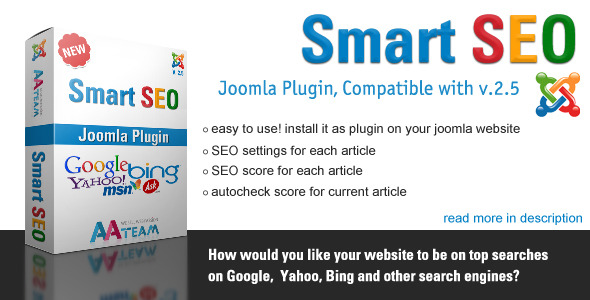 Smart SEO - Joomla Plugin - CodeCanyon Item for Sale