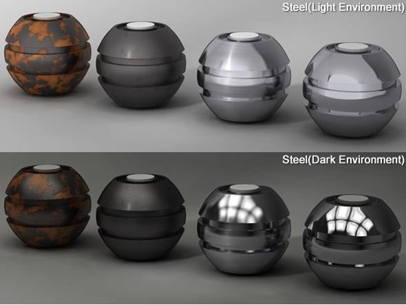Cinema 4d Metal Shaders Collection By Batvfx 3docean
