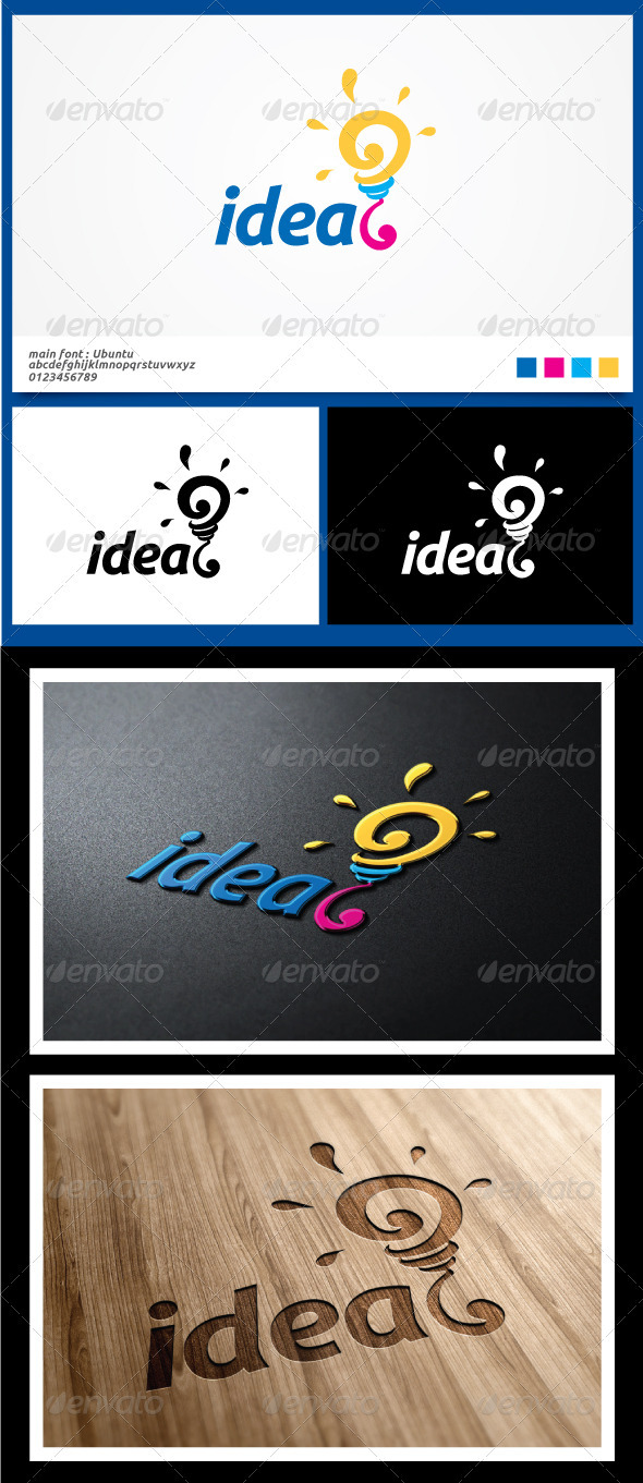 Idea Logo Template