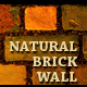 Natural brick wall textures pack