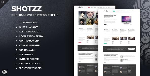 ThemeForest Shotzz Premium Wordpress Theme 672663