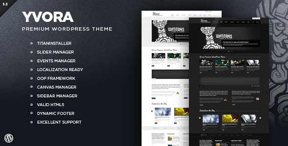 ThemeForest Yvora Premium WordPress Theme 638231
