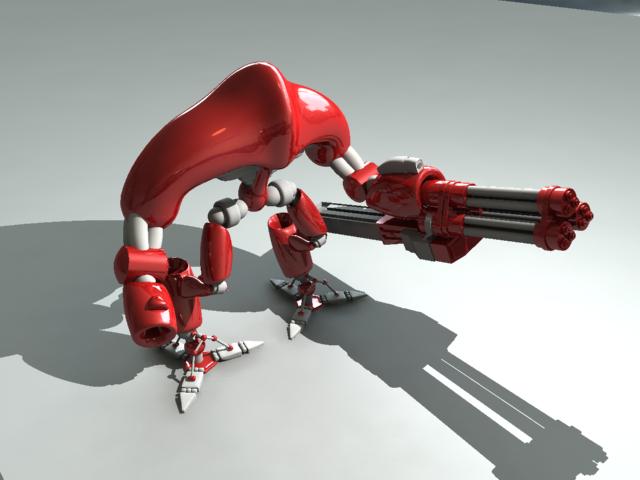 3DOcean Robot Model 2434213