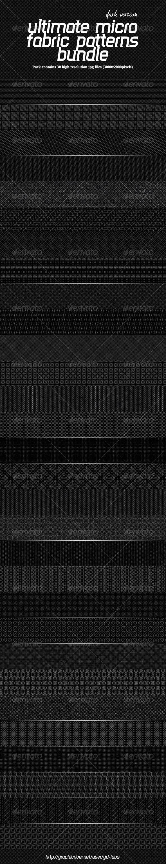 Ultimate Micro Fabric Patterns Bundle - Patterns Backgrounds