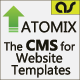 ATOMIX – The CMS for Website Templates