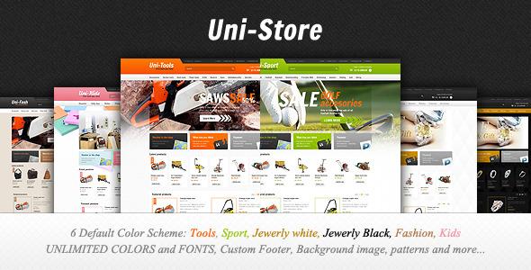 Uni-Store Universal OpenCart Theme