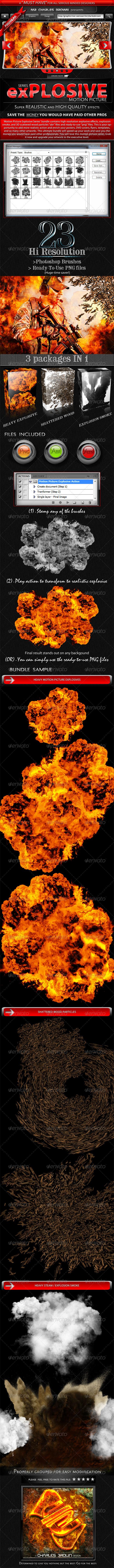 GraphicRiver Motion Picture Explosive Series 1176344
